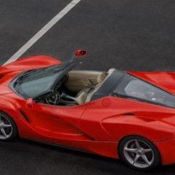 Ferrari LaFerrari Spider modellino (2)