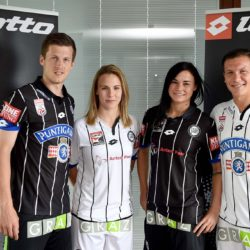 SOCCER - BL, Sturm, presentation of the new kit