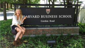 Maria Sharapova harvard
