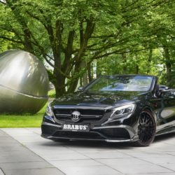 Mercedes S 63 AMG Cabrio by Brabus (2)