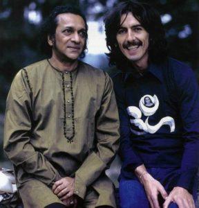 Ravi Shankar a George Harrison