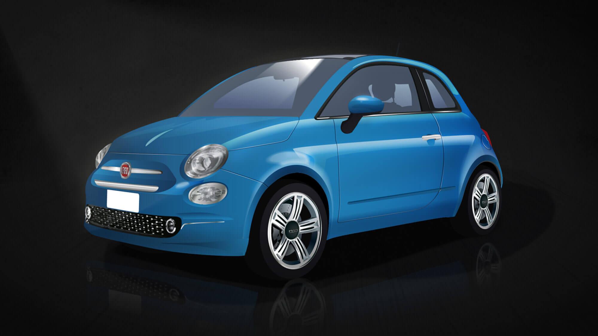 Fiat 500 - com'è oggi