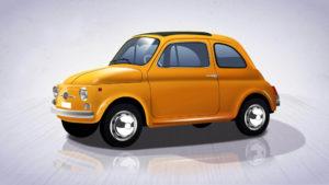 Fiat 500 -  com'era in passato