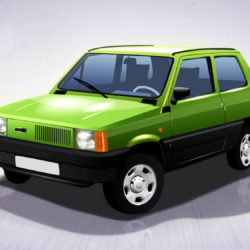 Fiat Panda - com'era in passato