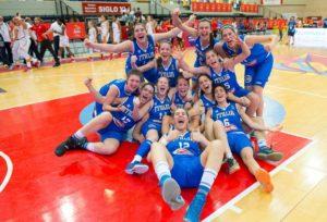 nazionale basket femminile u17