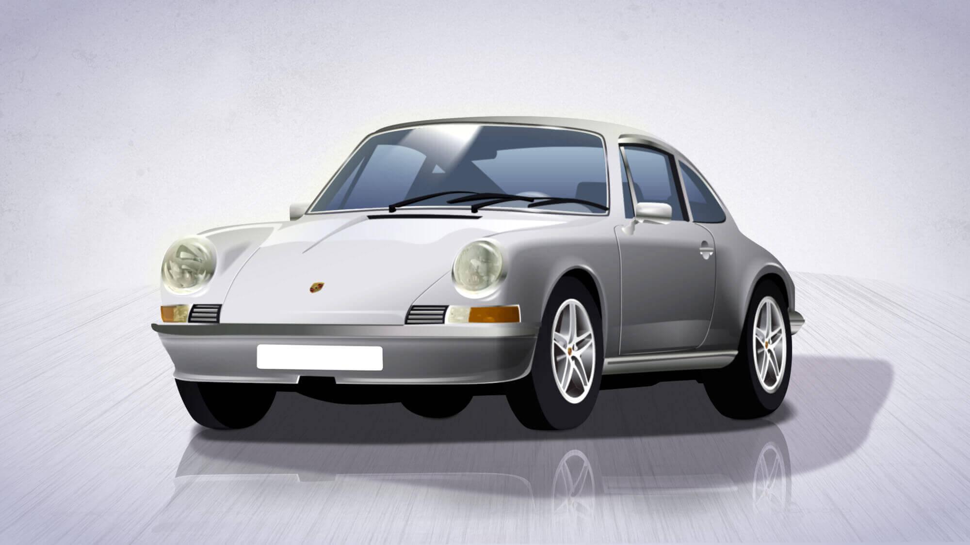 Porsche -  com'era in passato