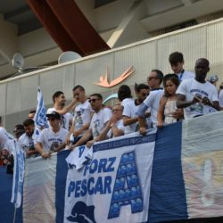 Festa per la promozione del Pescara in Serie A