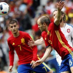 Spagna vs Repubblica Ceca - Euro 2016
