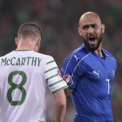 Italia vs Irlanda - Europei 2016