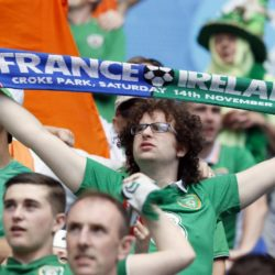 Euro 2016 - I tifosi attendono la partita Francia vs irlanda
