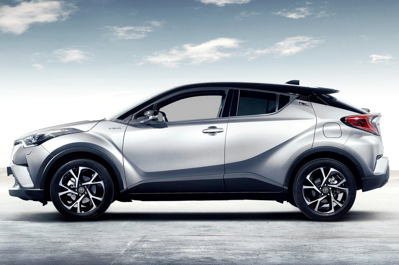 Toyota C Hr Il Suv Ibrido Debutta Al Motor Show Foto