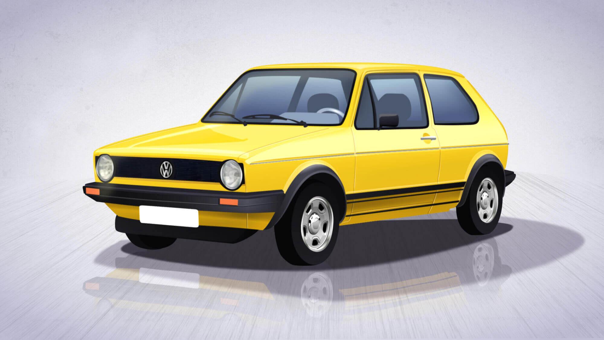 Volkswagen - com'era in passato