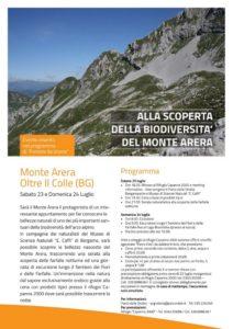 00 PARCO VIVO programma Monte Arera 23-24Luglio