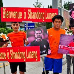 Pellè e Varga in Cina