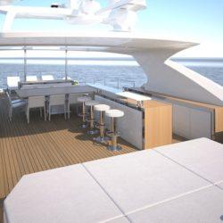 Benetti yacht - Mediterraneo 116