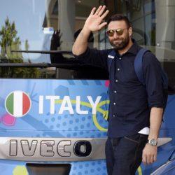 Europei 2016 - La nazionale italiana lascia il ritiro di Montpellier