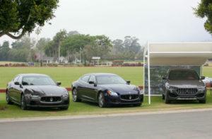 2016 Maserati Silver Cup – display statico per (da sinistra) Maserati Ghibli, Quattroporte, Levante