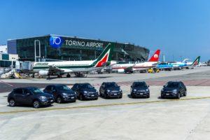 Consegna flotta Fiat 500X all'ad dell'aeroporto di Caselle