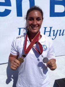 Alice Bagnoli-oro Slalom_ Argento Figure