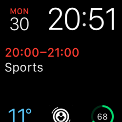 Apple Watch Face with SmartWatcher complication2