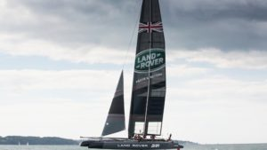 Ben Ainslie land rover bar