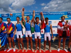 Europei junior Italia canottaggio