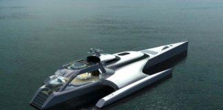 Trimarano Galaxy of Happiness della Latitude Yachts