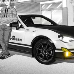 Toyota GT86 Initial D concept (1)