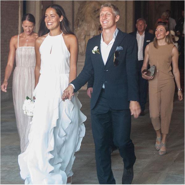 Ivanovic-Schweinsteiger: il matrimonio religioso tra la tennista e il calciatore