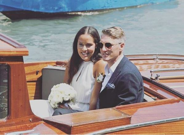 Bastian Schweinsteiger e Ana Ivanovic, le foto delle nozze a Venezia