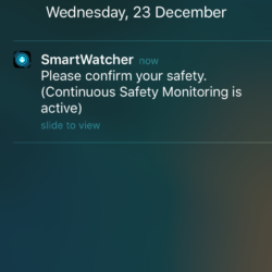 iOS CSM notification