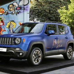 Ufficio STampa FCA/LaPresse - Jeep Renegade Vinyl