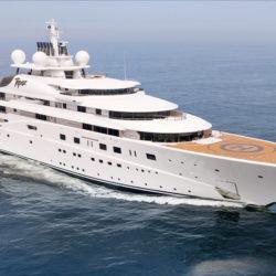 Yacht Topaz - Credits Luerssen-Yacht