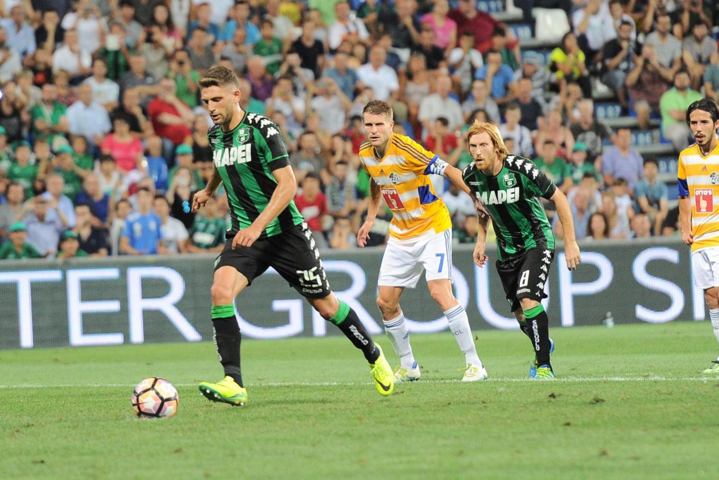 Europa League: Lucerna-Sassuolo, le formazioni ufficiali. Berardi in campo