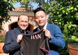 Berlusconi e Han Li