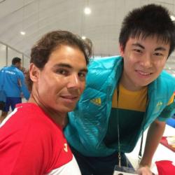 Nadal table tennis