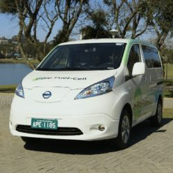 Nissan unveils world's first Solid-Oxide Fuel Cell vehicle