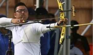 kim woo-jin tiro con l'arco rio 2016