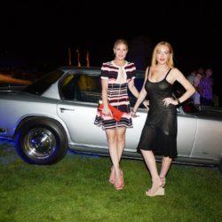 Hofit Golan;Lindsay Lohan maserati summer tour