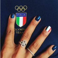 olimpiadi rio unghie