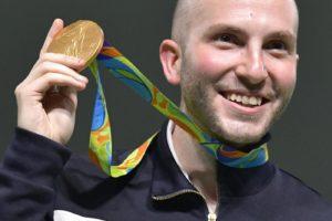 Rio 2016, Campriani oro nella carabina 50 mt