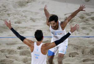 Rio, beachvolley: battuta la Russia. La coppia Nicolai-Lupo vola in finale