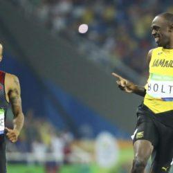 Rio, Husain Bolt si diverte nella semifinale dei 200 m piani