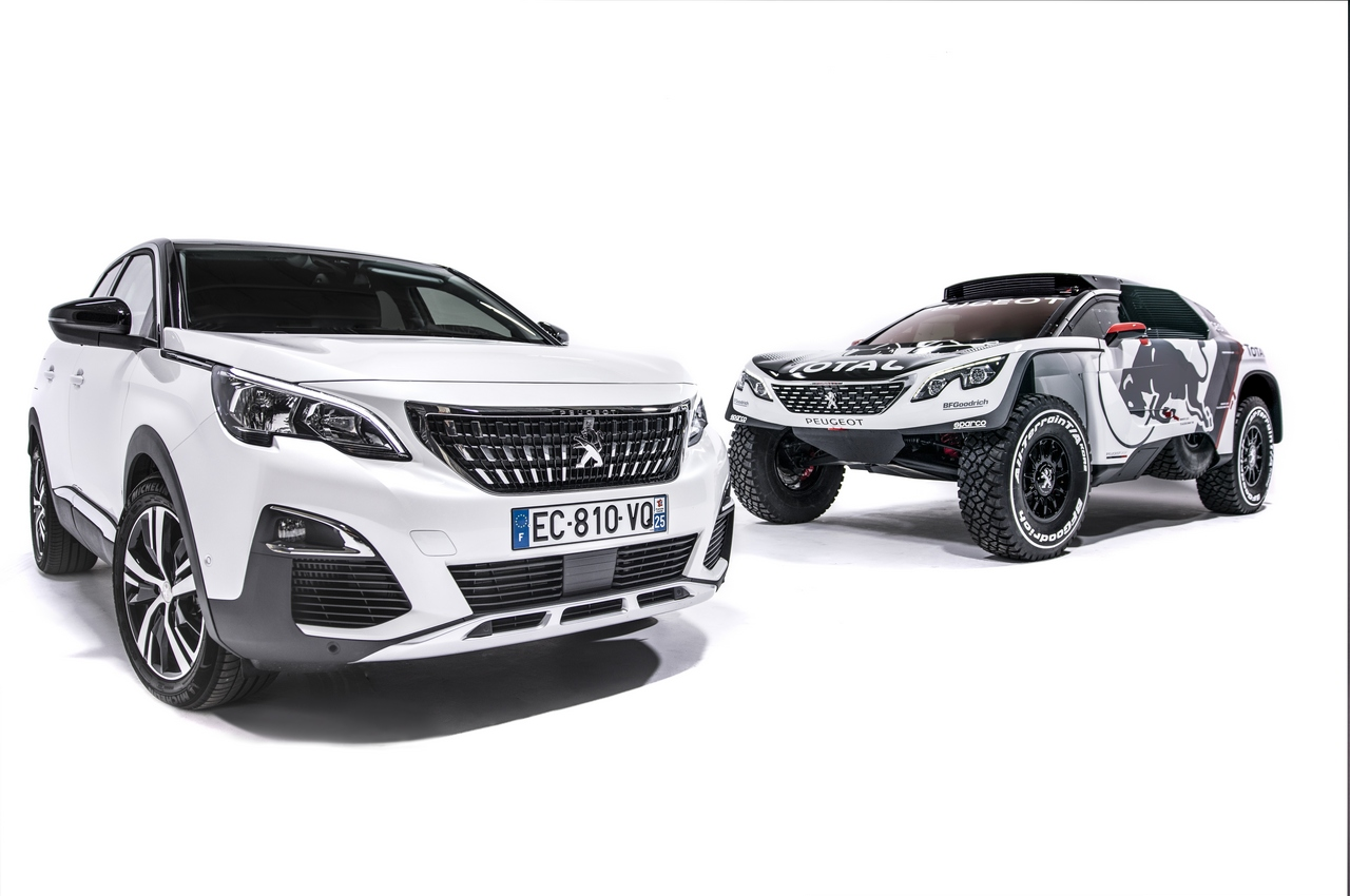 Team Peugeot-Total new Peugeot 3008 DKR reveal