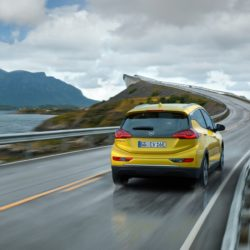 Sprinter: The Opel Ampera-e accelerates from 0 to 50 in just 3.2 seconds.