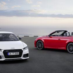 Audi TT  Coupé S line competition, Audi TT Roadster S line comp