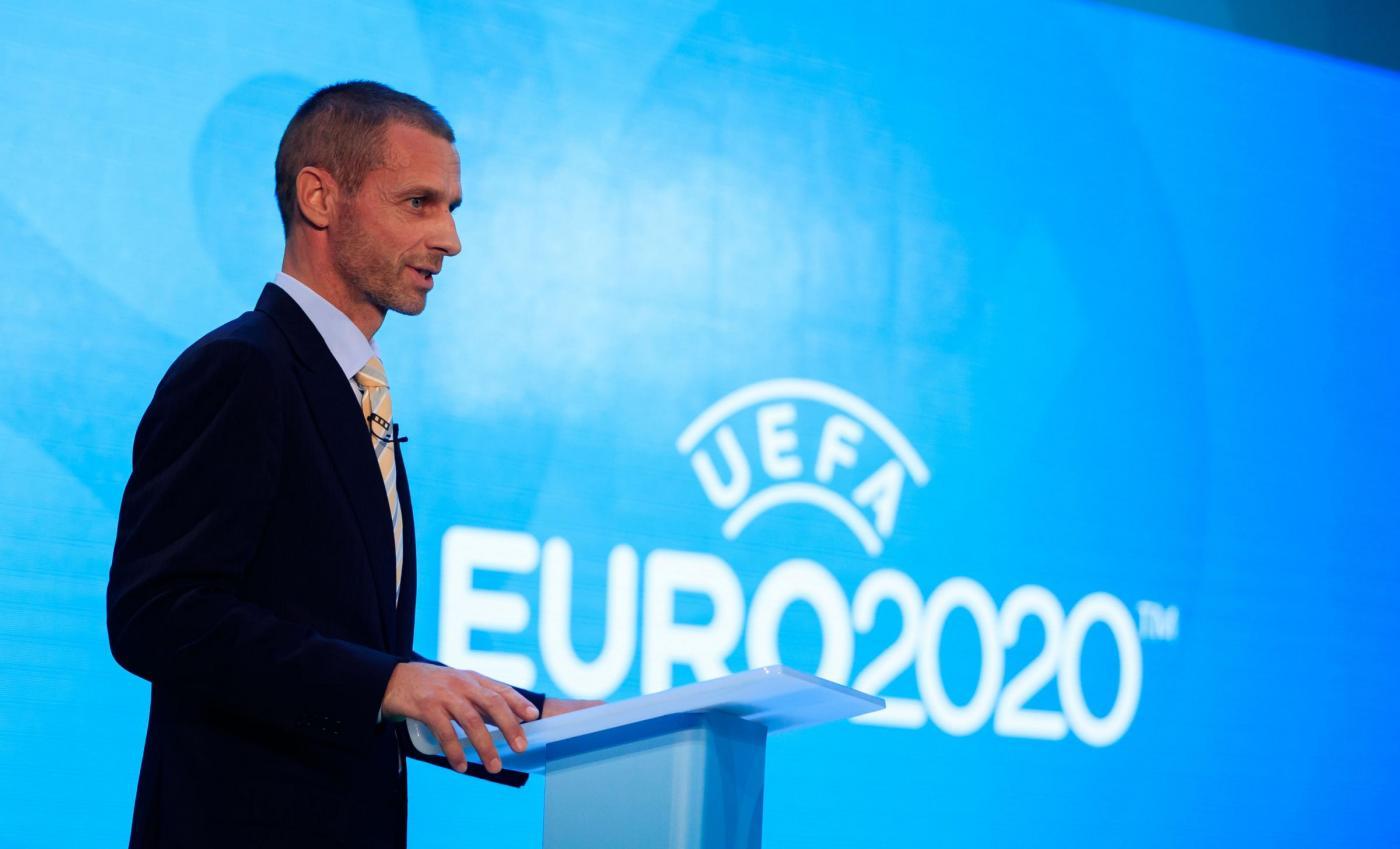 Uefa, il presidente Ceferin