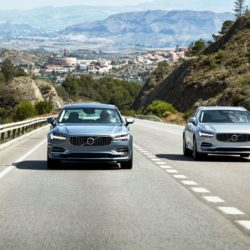 New Volvo S90 & V90 location driving