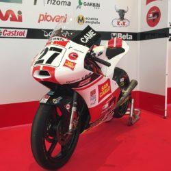 250 4 T MOTO MONDIALE 2014 - moto pilota Casadei