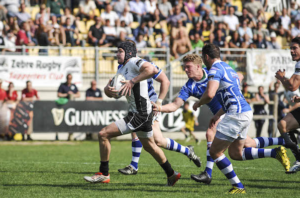 Canna zebre rugby vs dragons